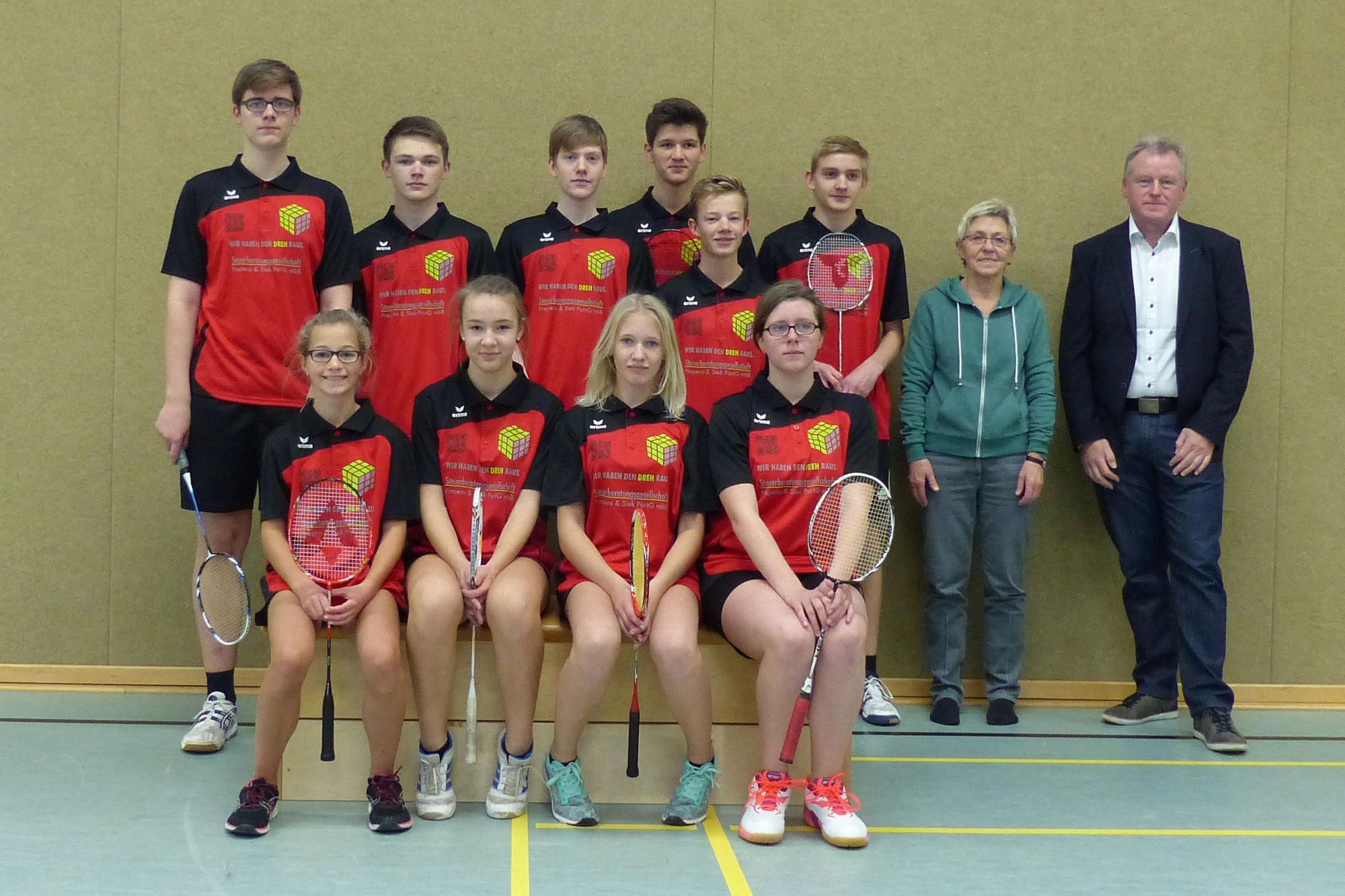Badminton Mannschaft